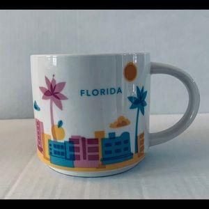 Starbucks Florida You Are Here (YAH) Coffee Mug